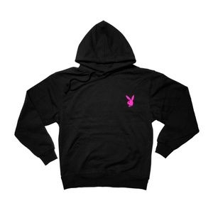 Shirts - Playboy Bunny pocket Pullover Hoodie